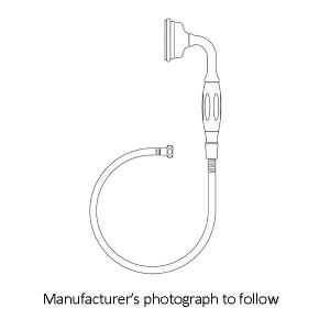 5385 Perrin & Rowe Handshower And Hose - Straight